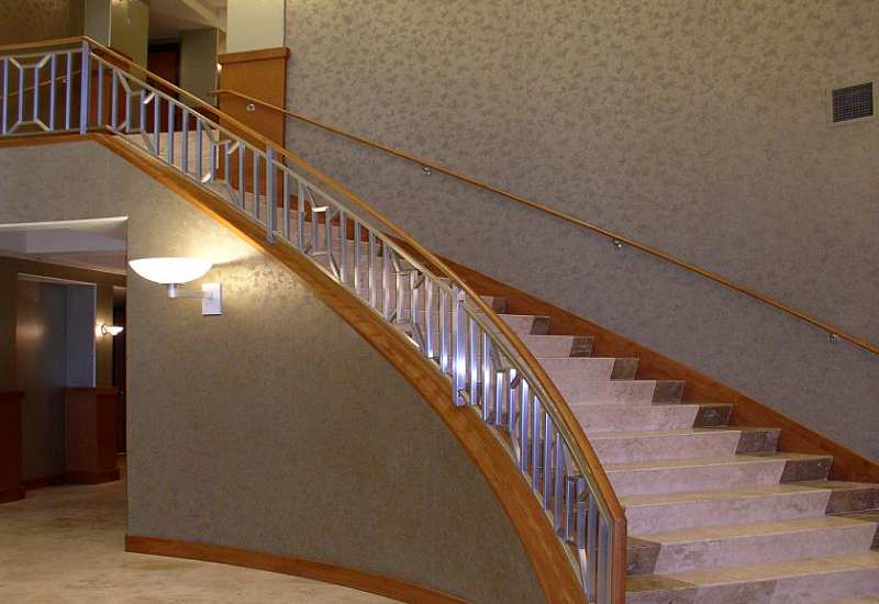 Custom Metal Staircases By Paramount Iron Handrail Inc